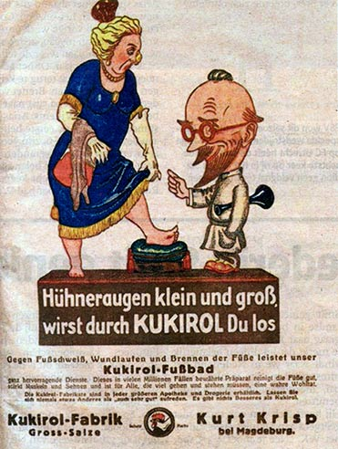 kukirol-advertentie