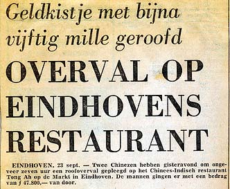 overval chinees restaurant